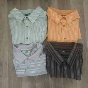 Mixed Lot of Button Downs and Golf Polo